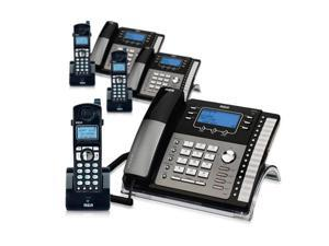 RCA ViSYS 25425RE1 & H5401RE1 (3-Pack) GE / RCA Cordless / Corded Phone System