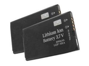New Replacement Battery for LG 220C ( 2 Pack )