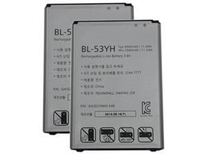 New Replacement Battery for LG G3 ( 2 Pack )