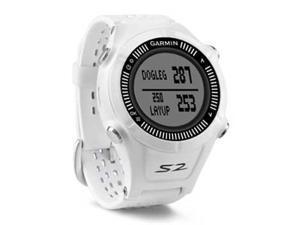 Garmin Approach S2 (White/Grey) GPS-Enabled Golf Watch