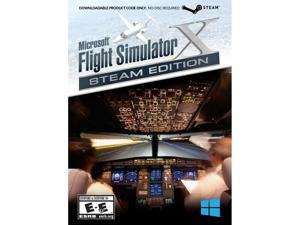 Mad Catz FSX43SW100SWAO Mad Catz Flight Simulator X: Steam Edition - Flying/Simulation Game - PC