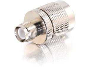 C2G 42201 C2G N-Male to RP-TNC Female Wi-Fi Adapter - 1 x N-Type Male Antenna - 1 x RP-TNC Female Antenna - Nickel Plated Connector - Silver