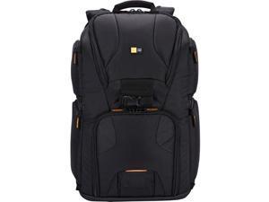 "Case Logic KSB-102BLACK Case Logic KSB-102 Carrying Case (Backpack) for 17"" Notebook, Camera, Camera Lens, Accessories, MacBook Pro, Gear, Memory Card, Lens Cap, Tripod, Monopod - Black - Nylon -"