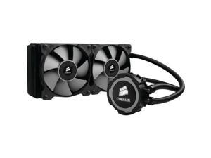 Corsair CW-9060016-WW Corsair Hydro Series H105 240mm Extreme Performance Liquid CPU Cooler - 2 x 120 mm - 2700 rpm - Top Fan Location - Socket H3 LGA-1150, Socket H2 LGA-1155, Socket H LGA-1156,