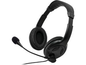 Gear Head AU3700S Gear Head AU3700S Headset - Stereo - Mini-phone - Wired - 32 Ohm - 50 Hz - 20 kHz - Over-the-head - Binaural - Ear-cup - 6 ft Cable - Noise Cancelling Microphone