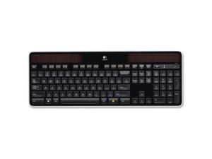 Logitech - 920-002912 - K750 Wireless Solar Keyboard, 2.4 GHz/30 ft, Black