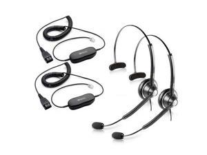 Jabra BIZ 1900 Mono Headset W/ GN1200 Cable (2-Pack)