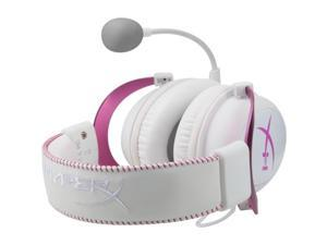 Kingston KHX-HSCP-PK Kingston HyperX Cloud II Headset - Surround - Pink - Mini-phone - Wired - 60 Ohm - 15 Hz - 25 kHz - Over-the-head - Binaural - Circumaural - 3.28 ft Cable