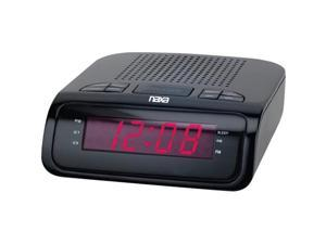 "Naxa Large 0.6"" Red Led Alarm Clock NAXNRC174"