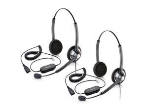 Jabra BIZ 1900 Duo Headset W/ GN1200 Cable (3-Pack)