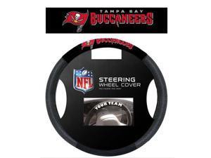 Fremont Die Inc Tampa Bay Bucaneers Poly-Suede Steering Wheel Cover Steering Wheel Cover