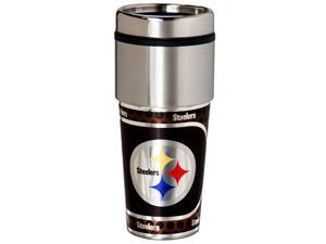 Great American Products Pittsburgh Steelers Travel Tumbler Stainless Steel 16 oz. Travel Tumbler