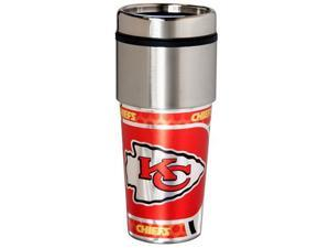 Great American Products Kansas City Chiefs Travel Tumbler Stainless Steel 16 oz. Travel Tumbler