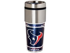 Great American Products Houston Texans Travel Tumbler Stainless Steel 16 oz. Travel Tumbler