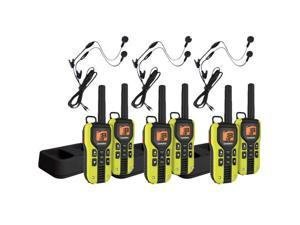 Uniden GMR4060-2CKHS (6-pack) 40-Mile 2-Way FRS/GMRS Radios w/ Headset
