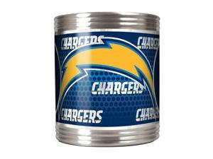 Great American Products San Diego Chargers Can Holder Stainless Steel Can Holder