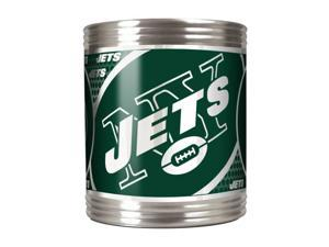 Great American Products New York Jets Can Holder Stainless Steel Can Holder