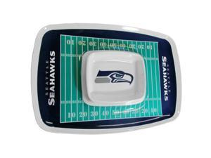 Siskiyou Sports Seattle Seahawks Chip And Dip Tray Chip and Dip Tray