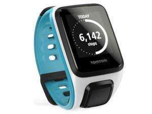 TomTom Spark White/Scuba Blue Small Fitness Watch