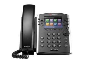 Polycom VVX 411 Corded Voice Over IP Phone w/ 12-line Operation (2200-48450-025)
