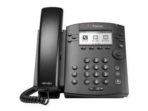 Polycom VVX 301 (2200-48300-025) 6-line Desktop Phone