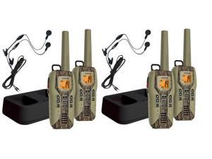 Uniden GMR5088-2CKHS (4-Pack) 50 Mile FRS/GMRS Submersible Two-Way Radio w/Direct Call - Camo - 2-pack