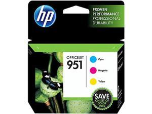 Hewlett Packard CR314FN#140 HP 951 Ink Cartridge - Cyan, Magenta, Yellow - Inkjet - Standard Yield - 700 Page Cyan, 700 Page Magenta, 700 Page Yellow - 3 / Pack