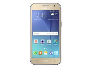 Samsung Galaxy J5 Dual SIM / SM-J500H Gold (International Model) Factory Unlocked GSM Mobile Phone