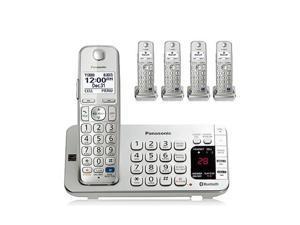 Panasonic KX-TGE275S 5 Handset Cordless Phone