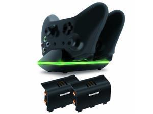 DREAMGEAR DRMXB16603B dreamGEAR Xbox One Dual Charging Dock