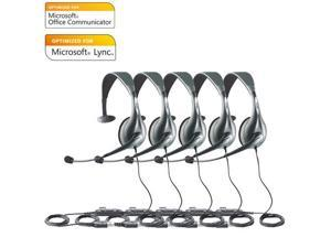 Jabra Voice 150 Mono MS Optimized For Microsoft Office Communicator 2010 (5-Pack)
