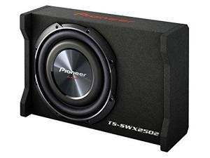 PIONEER PIOTSSWX2502B 10-Inch Shallow-Mount Pre-Loaded Enclosure Sub Woofer