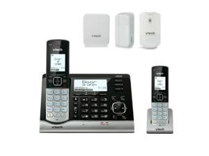 VTech VC7151 Plus (1) VC7100 Plus (1) VC7001 Plus (1) VC7002 Plus (1) VC7003 2 Handset Wireless Monitoring System With Garage Door,Open-Closed And Motion Sensor