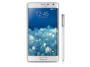 Samsung Galaxy Note Edge / SM-915G White (International Model) Unlocked GSM Mobile Phone