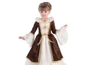 Kids Medieval Renaissance Fair Princess Halloween Costume Small