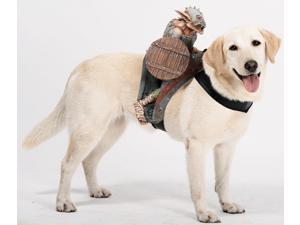 Dog Harness Rider Goblin Orc Pet Halloween Costume