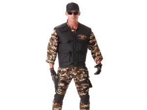 Teen Boys SEAL Team Navy Soldier Halloween Costume