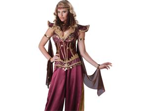 Sexy Arabian Genie Persian Princess Halloween Costume