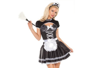 Sexy Naughty French Maid Outfit Cute Cosplay Halloween Costume
