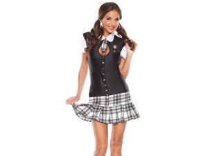 Sexy School Girl Striptease Roleplay Outfit Halloween Costume