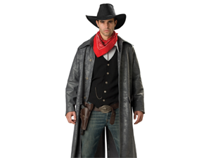 Wild West Cowboy Outlaw Adult Mens Halloween Costume