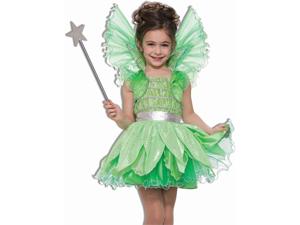 Girls Fairy Princess Tinkerbell Halloween Costume