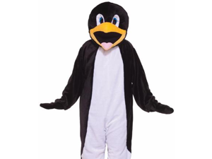 Forum Novelties 195708 Penguin Plush Economy Mascot Adult Costume Size: Standard (One Size)