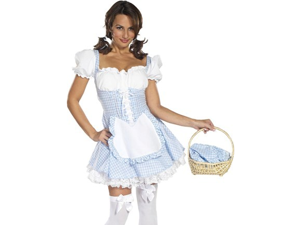 Sexy Adult Costume Dorothy Wizard of Oz Dress Outfit
