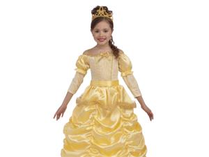Kids Belle Princess Gown Girls Beauty Beast Halloween Costume