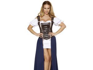 Sexy Medieval Tavern Wench Beer Maid Oktoberfest Halloween Costume