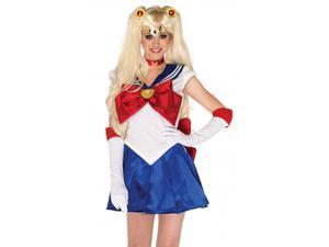 Womens Sailor Moon Cosplay Usagi Serena Tsukino Costume