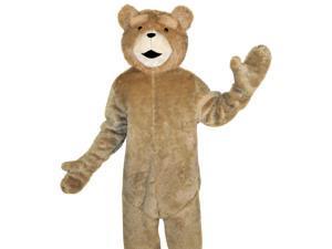 Funny Mens Ted Movie Teddy Bear Mascot Halloween Costume