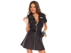Sexy Funny Womens SWAT Beer Shooter Party Shots Halloween Costume
