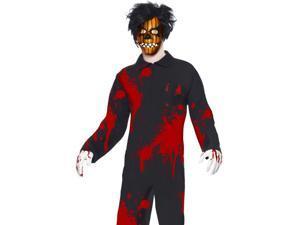 Pumpkin Boy Living Dead Doll Scary Adult Halloween Costume